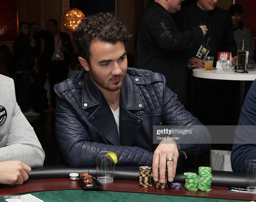 Musician Kevin Jonas attends the Sunset Marquis Hotel 50th Anniversary Birthday Bash at Sunset Marquis Hotel & Villas on November 16, 2013 in West Hollywood, California.
