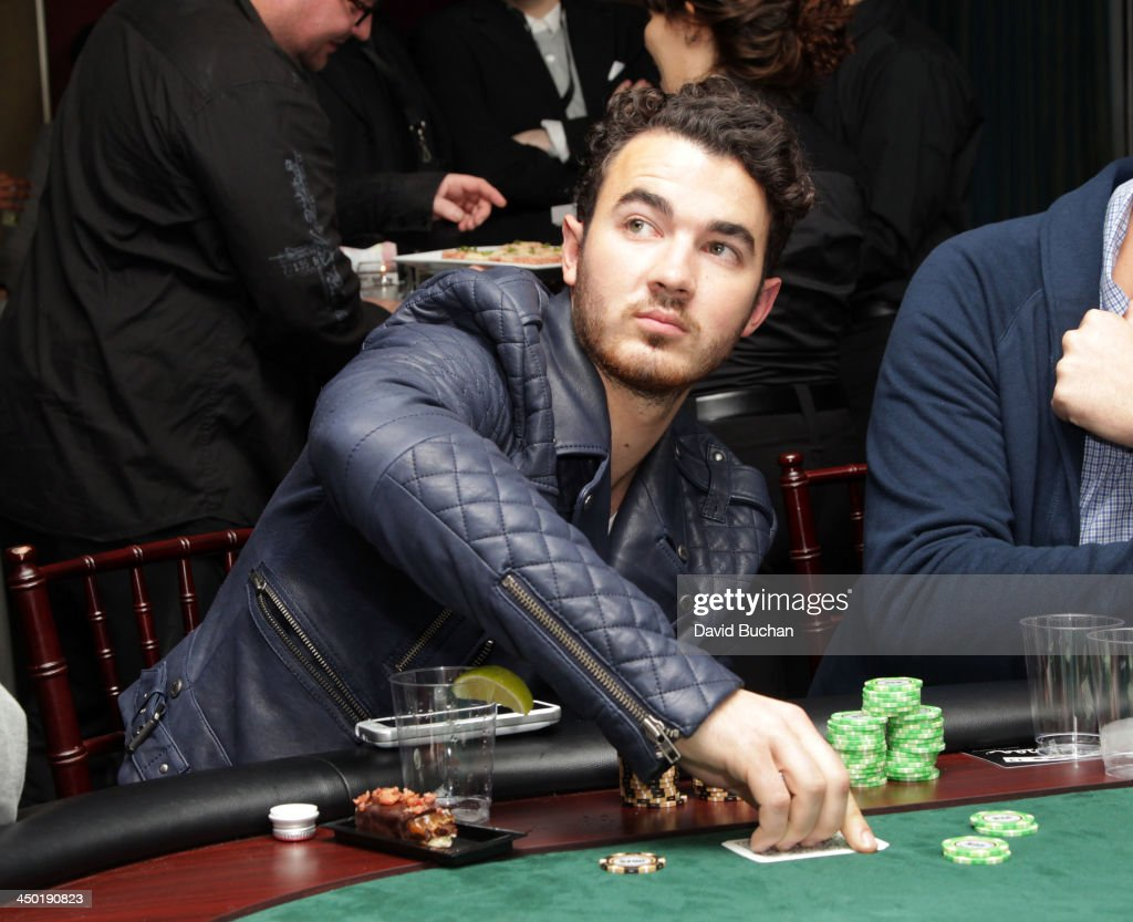 Musician <a gi-track='captionPersonalityLinkClicked' href=/galleries/search?phrase=Kevin+Jonas&family=editorial&specificpeople=709547 ng-click='$event.stopPropagation()'>Kevin Jonas</a> attends the Sunset Marquis Hotel 50th Anniversary Birthday Bash at Sunset Marquis Hotel & Villas on November 16, 2013 in West Hollywood, California.