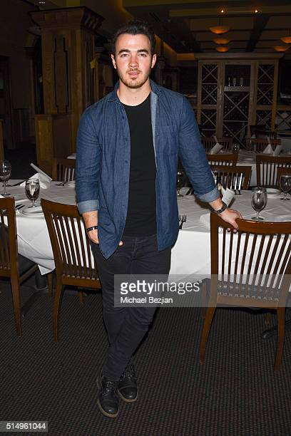Musician Kevin Jonas poses for a portait at Brand Innovators at SXSW on March 11 2016 in Austin Texas