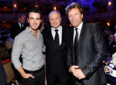 Musician Kevin JonasNew York City Police Commissioner Raymond W Kelly and Musician Jon Bon Jovi attend the 33rd Annual Police Foundation gala at The...