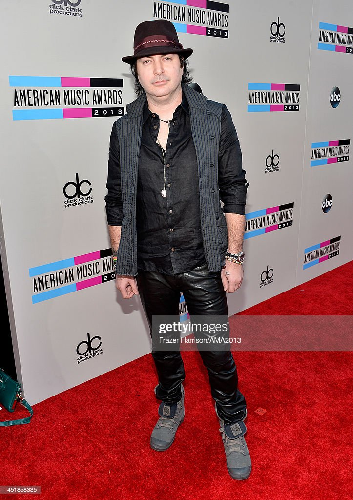 Musician Kevin Rudolf attends 2013 American Music Awards at Nokia Theatre LA Live on November 24 2013 in Los Angeles California