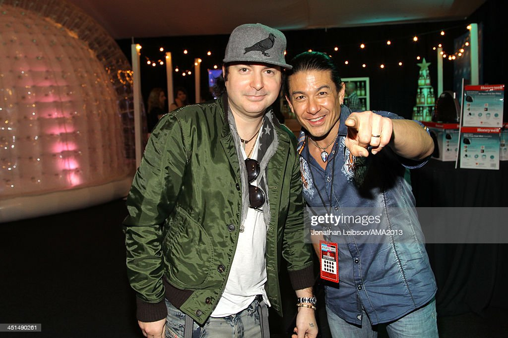 Musician Kevin Rudolf attends day 1 of the 2013 American Music Awards gift suite at Nokia Theatre LA Live on November 22 2013 in Los Angeles...