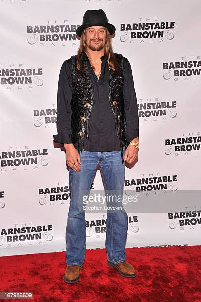 Musician Kid Rock attends the 2013 BarnstableBrown Derby gala at BarnstableBrown House on May 3 2013 in Louisville Kentucky