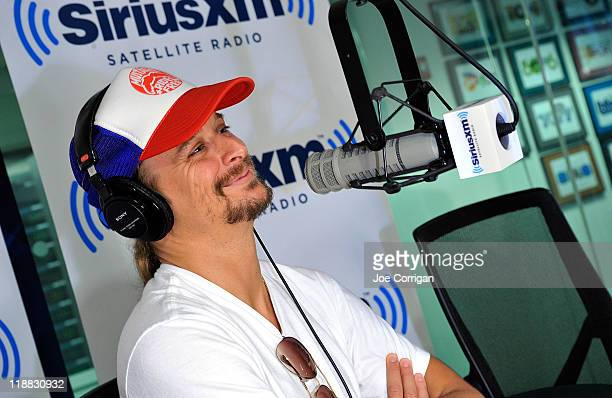 Musician Kid Rock visits SiriusXM Studio on July 11 2011 in New York City