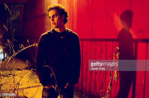 Musician Kieran Hebden of Four Tet is photographed for SelfTitled magazine on November 19 2010 in London England