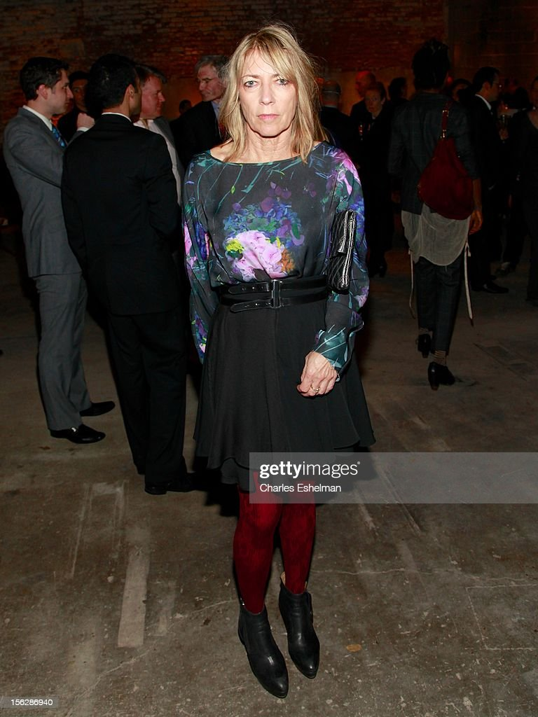 Musician <a gi-track='captionPersonalityLinkClicked' href=/galleries/search?phrase=Kim+Gordon&family=editorial&specificpeople=683747 ng-click='$event.stopPropagation()'>Kim Gordon</a> attends the 2012 Dia Art Foundation's Gala at Dia Art Foundation on November 12, 2012 in New York City.