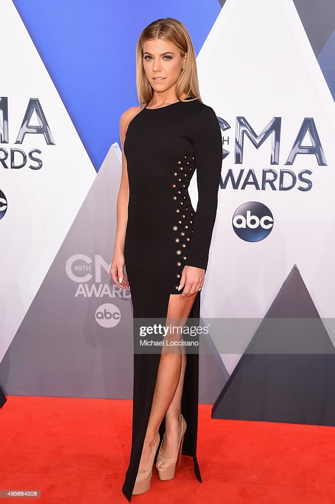 Musician Kimberly Perry attends the 49th annual CMA Awards at the Bridgestone Arena on November 4 2015 in Nashville Tennessee