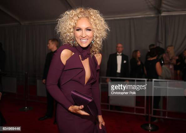 Musician Kimberly Schlapman of Little Big Town attends The 59th GRAMMY Awards at STAPLES Center on February 12 2017 in Los Angeles California