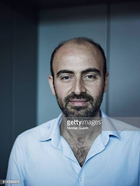 Musician Kinan Azmeh is photographed for Self Assignment on February 15 2016 in Berlin Germany