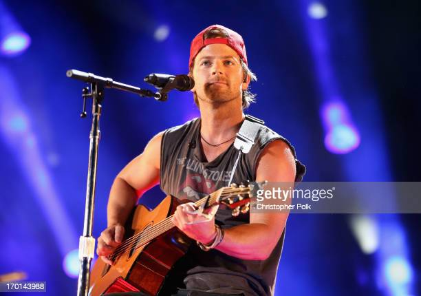 Musician Kip Moore performs during the 2013 CMA Music Festival on June 7 2013 in Nashville Tennessee