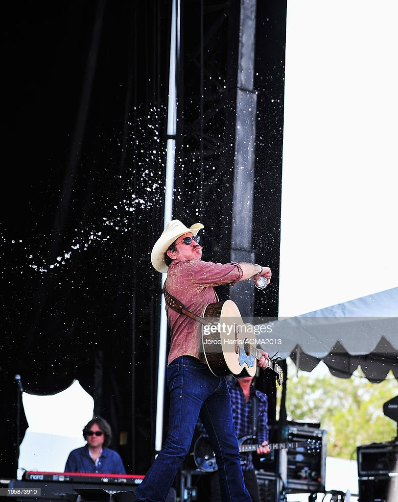 Musician <a gi-track='captionPersonalityLinkClicked' href=/galleries/search?phrase=Kix+Brooks&family=editorial&specificpeople=206811 ng-click='$event.stopPropagation()'>Kix Brooks</a> performs at The ACM Experience during the 48th Annual Academy of Country Music Awards at the Orleans Arena on April 6, 2013 in Las Vegas, Nevada.