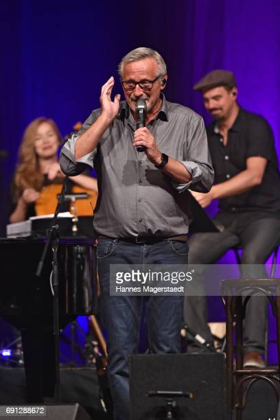 Musician Konstantin Wecker performs during his 70th Birthday at Circus Krone on June 1 2017 in Munich Germany