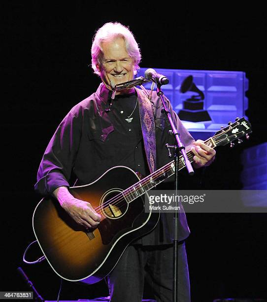 Musician Kris Kristofferson performs at 'A Song Is Born' the 16th Annual GRAMMY Foundation Legacy Concert held at the Wilshire Ebell Theater on...