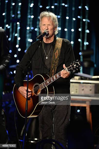 Musician Kris Kristofferson performs during Skyville Live on April 7 2015 in Nashville Tennessee