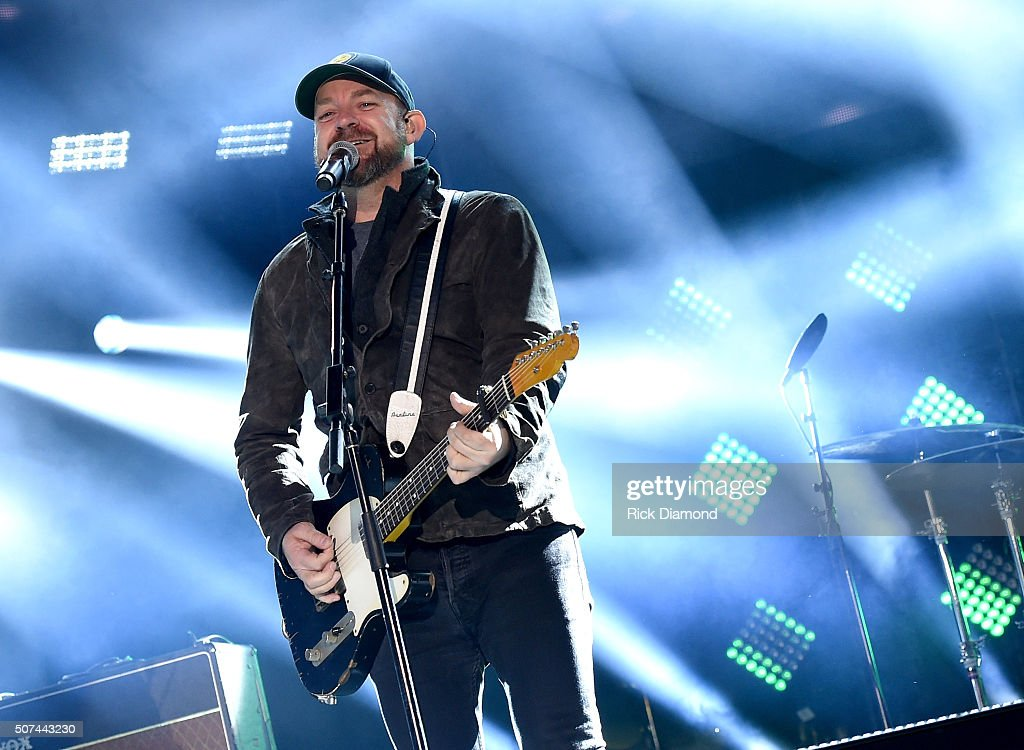 Musician Kristian Bush performs onstage during NHL AllStar Winter Park Nashville 2016 Day 2 on January 29 2016 in Nashville Tennessee