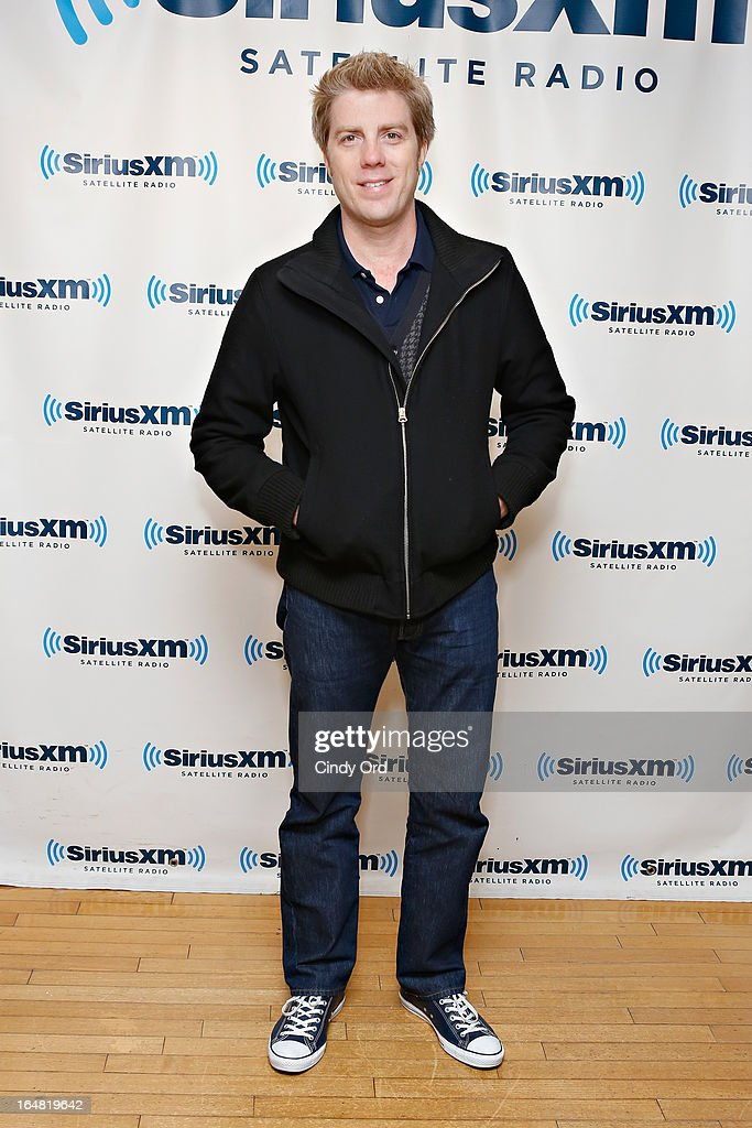 Musician Kyle Eastwood visits the SiriusXM Studios on March 28, 2013 in New York City.