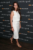 Musician Lana Del Rey attends the 'Child Of God' premiere at Tribeca Grand Hotel on July 30 2014 in New York City