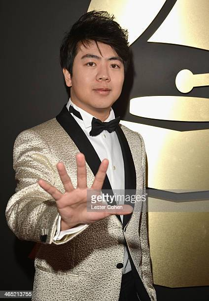 Musician Lang Lang attends the 56th GRAMMY Awards at Staples Center on January 26 2014 in Los Angeles California