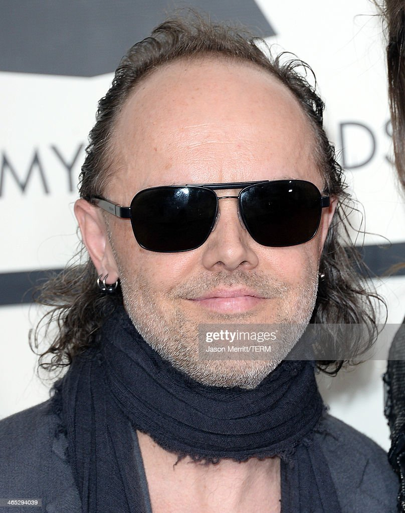 Musician Lars Ulrich attends the 56th GRAMMY Awards at Staples Center on January 26, 2014 in Los Angeles, California.