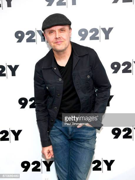 Musician Lars Ulrich of band Metallica poses at at 92nd Street Y on November 5 2017 in New York City