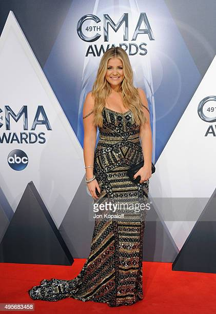 Musician Lauren Alaina attends the 49th annual CMA Awards at the Bridgestone Arena on November 4 2015 in Nashville Tennessee