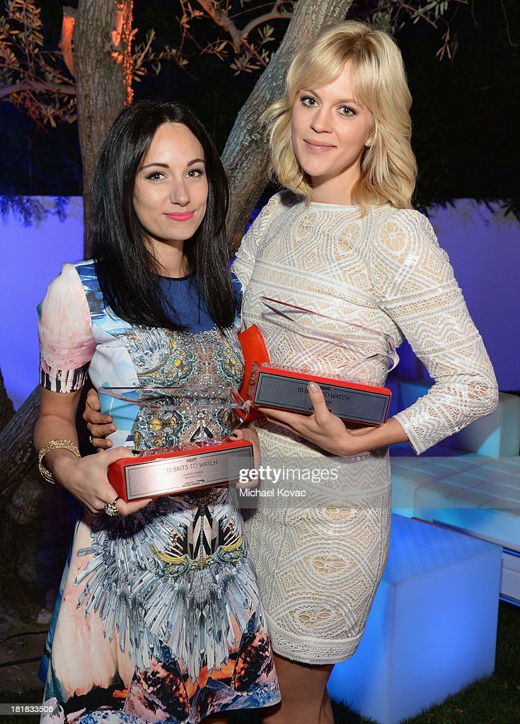 Musician Lauren Harris and actress Georgia King attend British Airways and Variety Celebrate The Inaugural A380 Service Direct from Los Angeles to London and Discover Variety's 10 Brits to Watch on September 25, 2013 in Los Angeles, California.