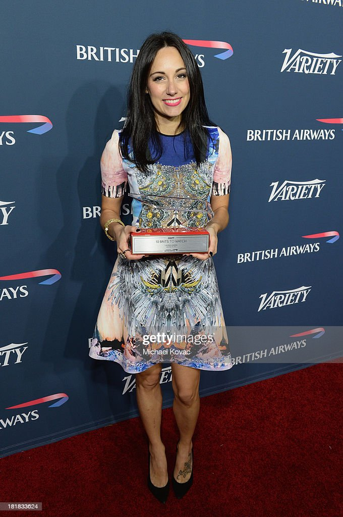 Musician Lauren Harris attends British Airways and Variety Celebrate The Inaugural A380 Service Direct from Los Angeles to London and Discover Variety's 10 Brits to Watch on September 25, 2013 in Los Angeles, California.