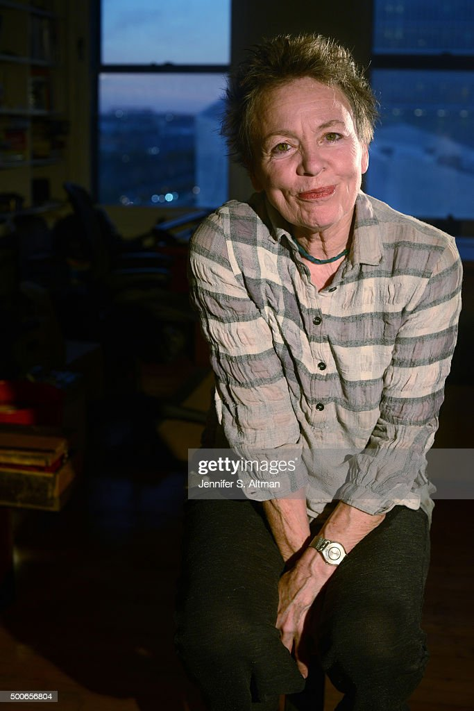 Laurie Anderson, Los Angeles Times, November 6, 2015