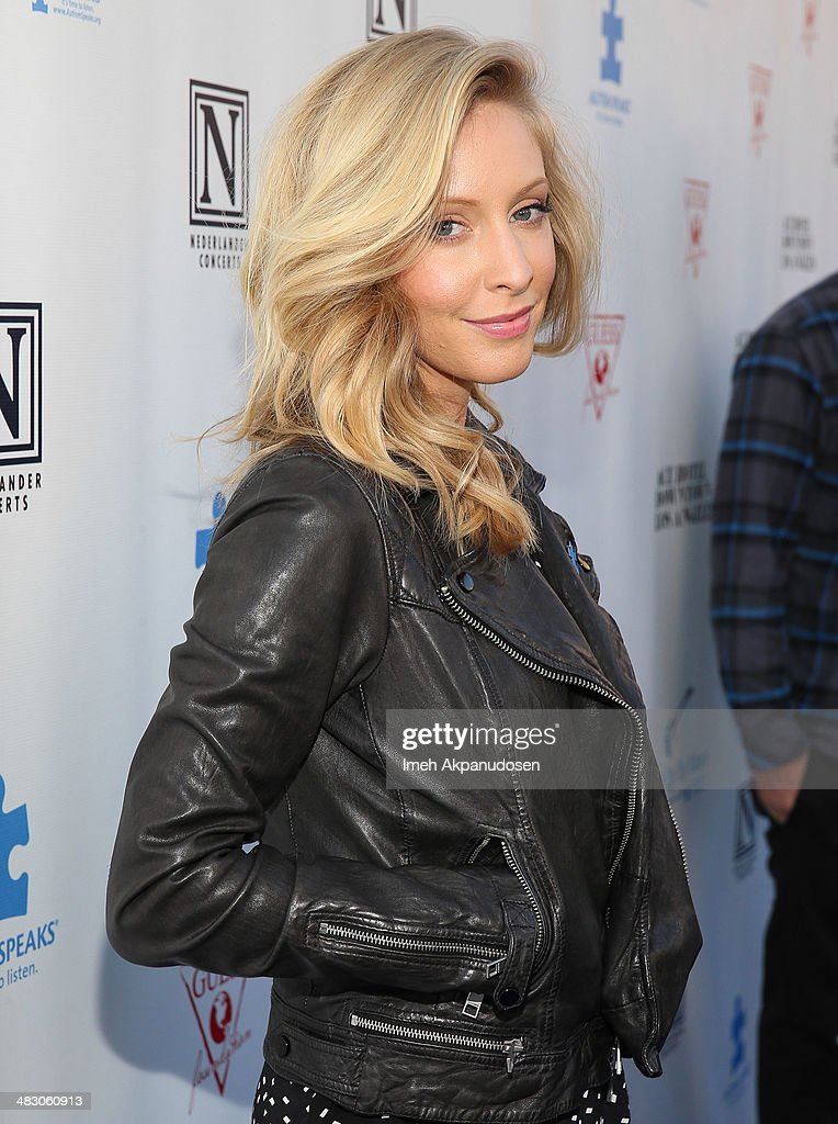 Musician Leah Felder attends the 2nd Light Up The Blues Concert - An Evening Of Music To Benefit Autism Speaks at The Theatre At Ace Hotel on April 5, 2014 in Los Angeles, California.