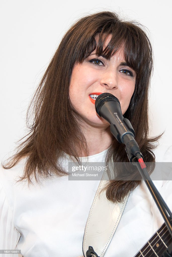 Musician Leah Siegal of Firehorse attends the 2013 re:FORM Art Benefit at C24 Gallery on March 4, 2013 in New York City.