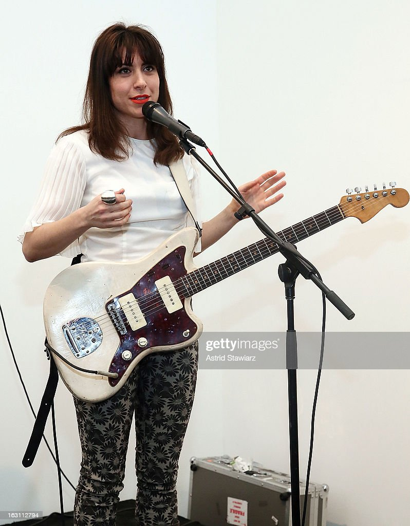Musician Leah Siegal of Firehorse performs at the 2013 re:FORM Art Benefit at C24 Gallery on March 4, 2013 in New York City.