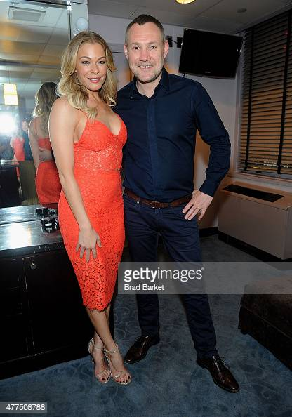 Musician LeAnn Rimes and David Gray attend the David Gray in concert at Radio City Music Hall on June 17 2015 in New York City