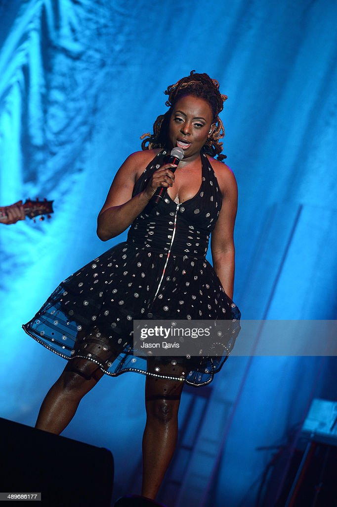 Musician Ledisi performs at War Memorial Auditorium on May 11 2014 in Nashville Tennessee