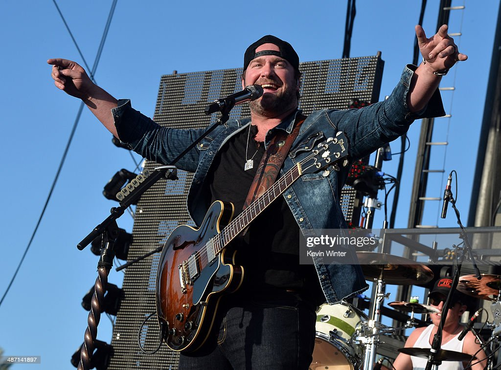 Musician Lee Brice performs onstage during day 3 of 2014 Stagecoach: California's Country Music Festival at the Empire Polo Club on April 27, 2014 in Indio, California.