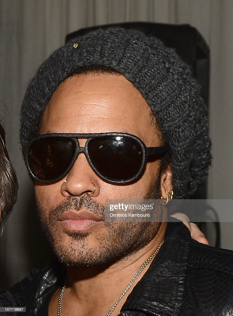 Musician <a gi-track='captionPersonalityLinkClicked' href=/galleries/search?phrase=Lenny+Kravitz&family=editorial&specificpeople=171613 ng-click='$event.stopPropagation()'>Lenny Kravitz</a> attends a Beachside Barbecue presented by CHANEL hosted by Art.sy Founder Carter Cleveland, Larry Gagosian, Wendi Murdoch, Peter Thiel and Dasha Zhukova at Soho Beach House on December 5, 2012 in Miami Beach, Florida.