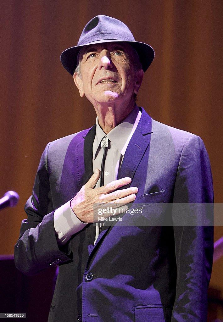 Leonard Cohen In Concert - New York, NY