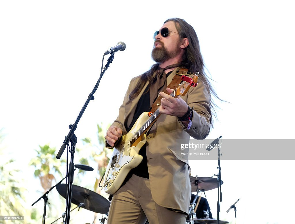 Musician Leroy Powell performs onstage during 2016 Stagecoach California's Country Music Festival at Empire Polo Club on April 29, 2016 in Indio, California.