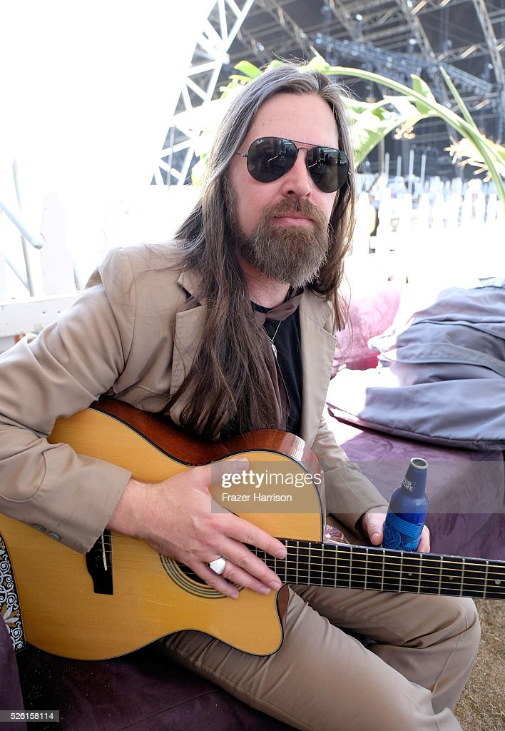 Musician Leroy Powell poses backstage during 2016 Stagecoach California's Country Music Festival at Empire Polo Club on April 29, 2016 in Indio, California.