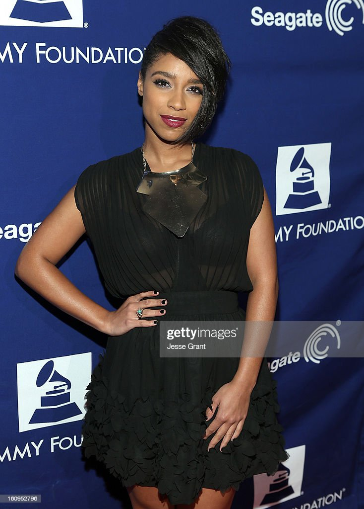 Musician Lianne La Havas attends The 55th Annual GRAMMY Awards - Music Preservation Project 'Play It Forward' Celebration highlighting The GRAMMY Foundations ongoing work to safegaurd music's history at the Saban Theatre on February 7, 2013 in Los Angeles, California.