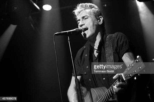 Musician Ligabue performs at the Whisky a Go Go on October 22 2014 in West Hollywood California