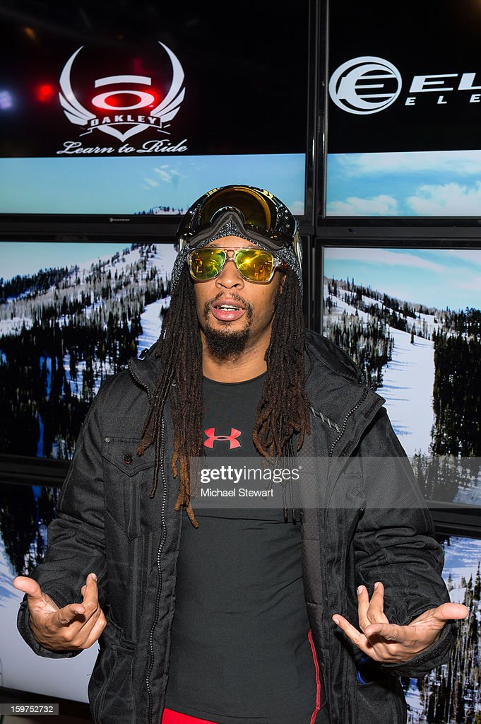 Musician Lil Jon attends Oakley Learn To Ride In Collaboration With New Era on January 19, 2013 in Park City, Utah.