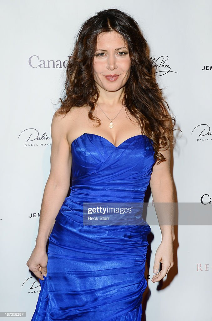 Musician Lili Hayden arrives at Canadian Consul General honors fashion designer Dalia MacPhee on November 7, 2013 in Los Angeles, California.