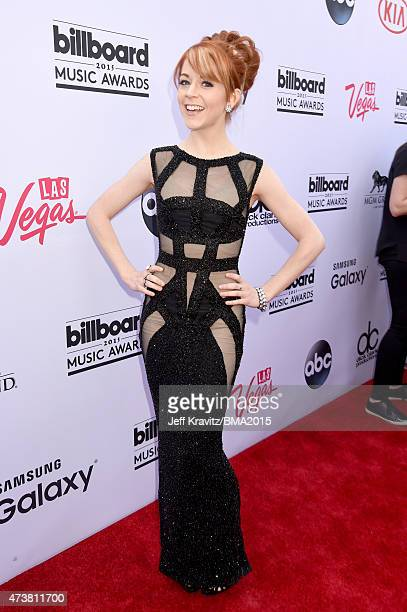 Musician Lindsey Stirling attends the 2015 Billboard Music Awards at MGM Grand Garden Arena on May 17 2015 in Las Vegas Nevada