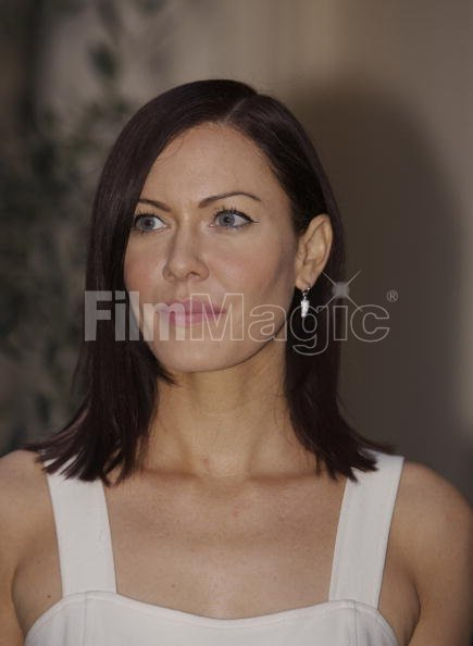 Musician Linzi Stoppard arrives for...