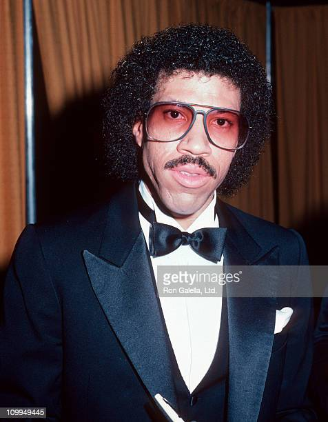 Musician Lionel Richie attends 25th Annual Grammy Awards on February 23 1983 at the Shrine Auditorium in Los Angeles California