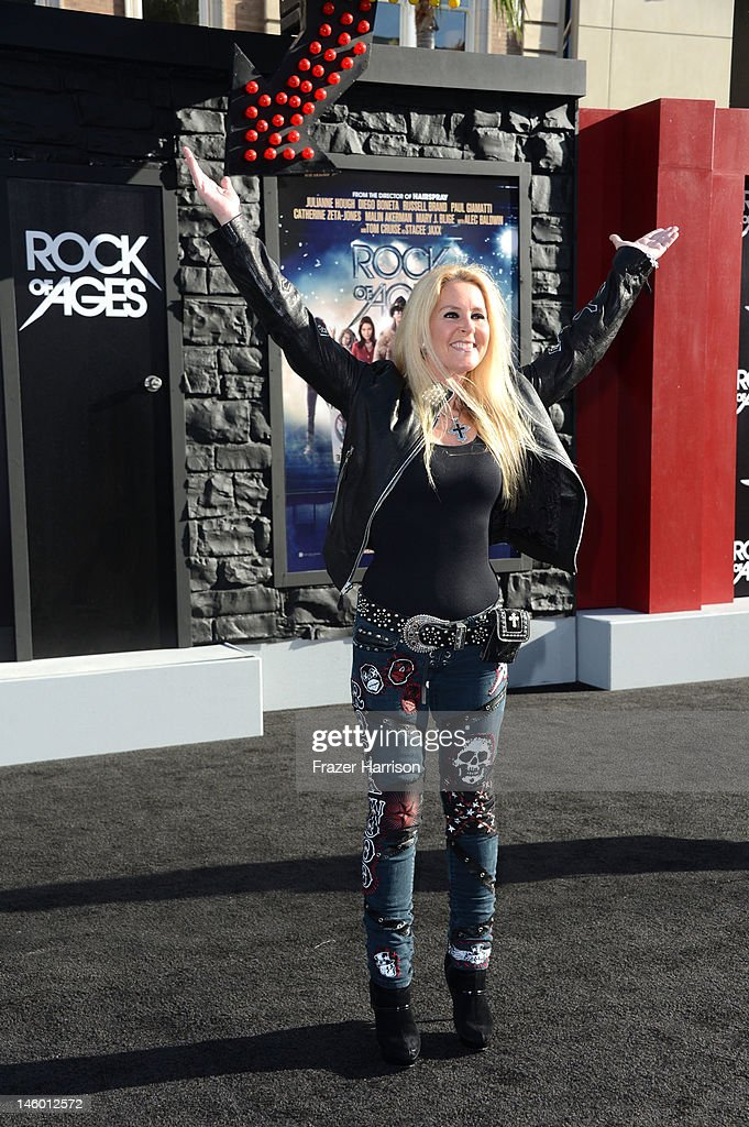 Musician Lita Ford arrives at the premiere of Warner Bros. Pictures' 'Rock of Ages' at Grauman's Chinese Theatre on June 8, 2012 in Hollywood, California.