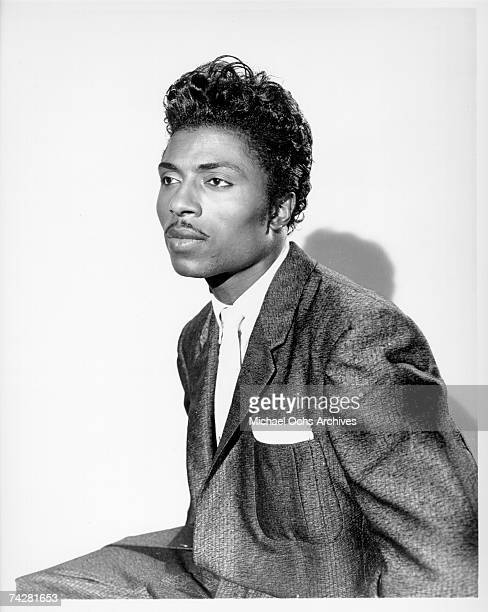 Musician Little Richard poses for a portrait in circa 1957