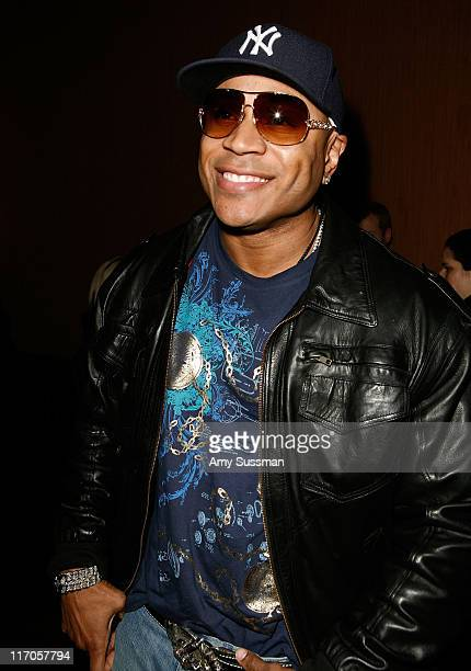 Musician LL Cool J attends the Tory Burch Fall Presentation during MercedesBenz Fashion Week Fall 2009 Collections at Prince George Ballroom on...
