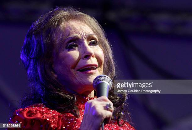 Musician Loretta Lynn performs onstage at the BBC Music showcase during the 2016 SXSW Music Film Interactive Festival at Stubbs on March 17 2016 in...