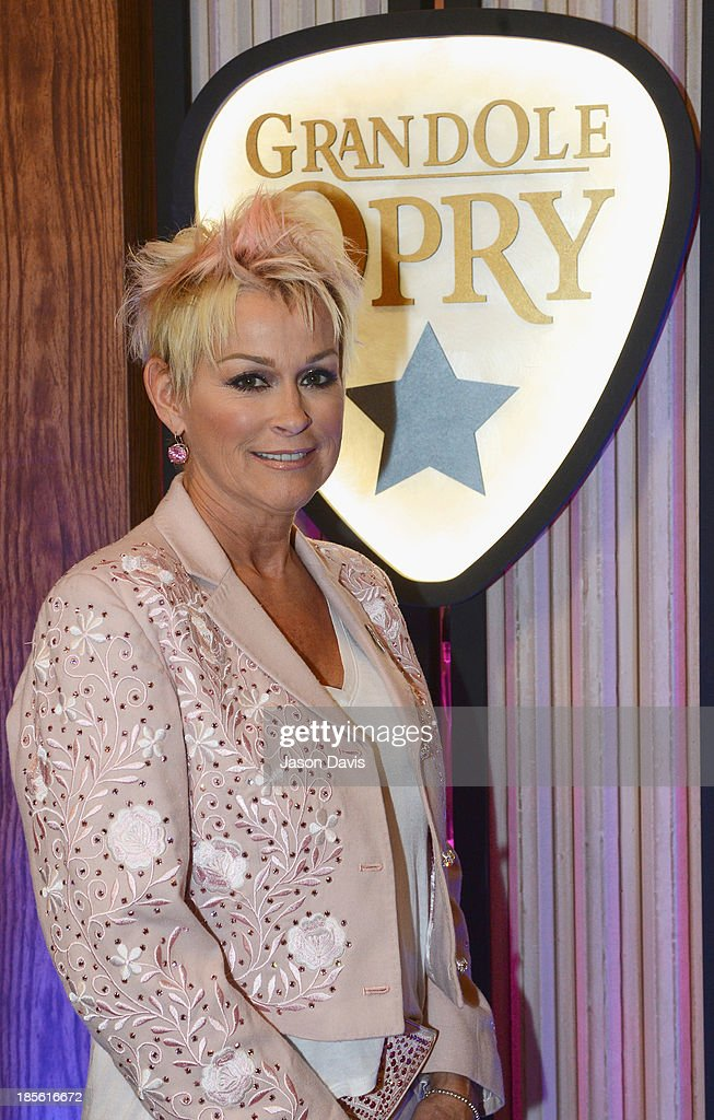 Musician Lorrie Morgan appears during the 5th annual Opry Goes Pink show at The Grand Ole Opry on October 22, 2013 in Nashville, Tennessee.